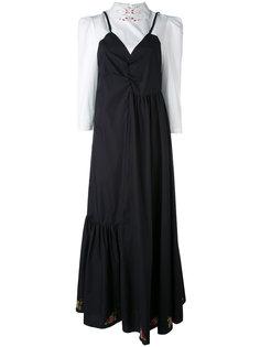 платье-рубашка с многослойным эффектом  Vivetta
