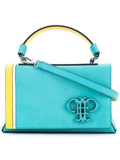 сумка-тоут с тисненым логотипом Emilio Pucci