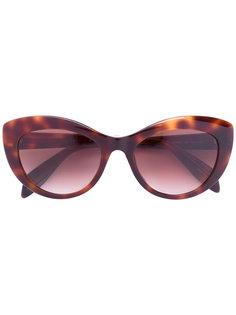 """солнцезащитные очки в оправе """"кошачий глаз"""" Alexander Mcqueen Eyewear"""