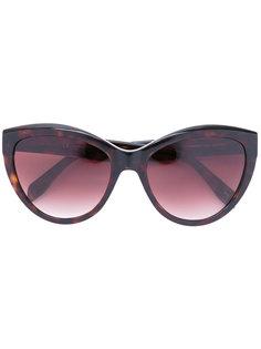 объемные солнцезащитные очки Alexander Mcqueen Eyewear