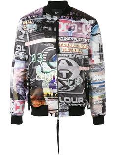 куртка-бомбер ITN Blood Brother