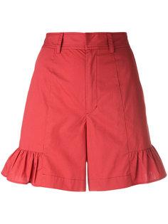 шорты с расклешенным низом Muveil
