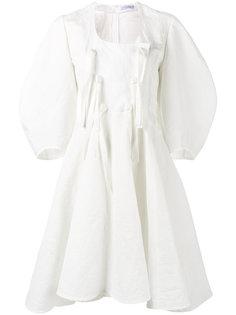 платье с объемными рукавами JW Anderson