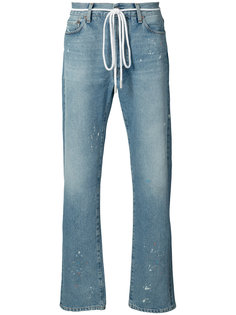 мешковатые потертые джинсы  Off-White