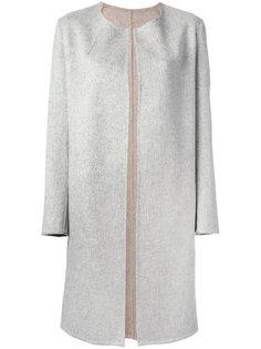 пальто с круглым вырезом  Liska