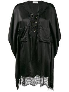 асимметричная рубашка с кружевной отделкой Faith Connexion