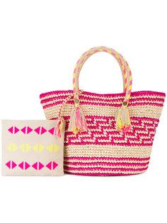 плетеная сумка-тоут Simea Yosuzi