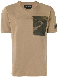 футболка с камуфляжным карманом Hydrogen