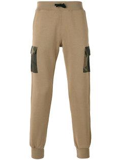 спортивные брюки с камуфляжными карманами Hydrogen