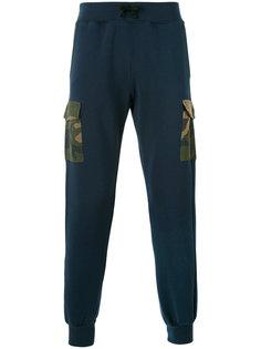 спортивные брюки с камуфляжным карманом Hydrogen