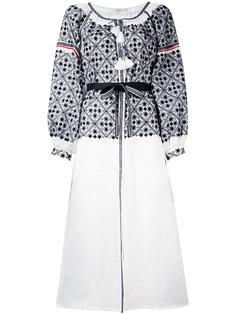 платье-рубашка с вышивкой Vita Kin