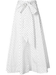 длинная юбка в горох Lisa Marie Fernandez