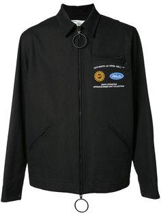 форменная куртка на молнии Off-White