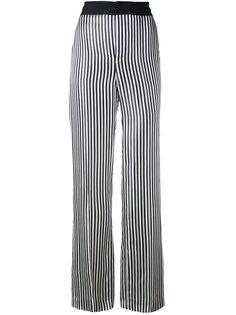 брюки в полоску Lanvin