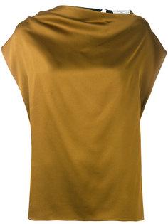 блузка с бретелькой сзади  Lanvin