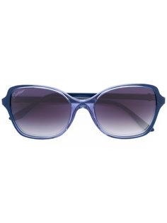 крупные солнцезащитные очки Cartier