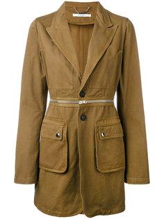 удлиненный пиджак в стиле милитари Givenchy
