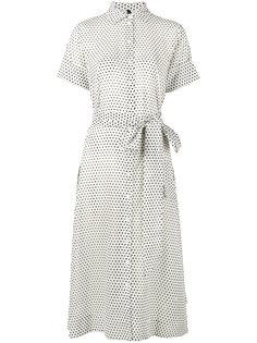 платье-рубашка с узором в горох Lisa Marie Fernandez