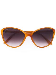 крупные солнцезащитные очки формы кошачий глаз Cartier