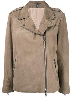 байкерская куртка Eleventy