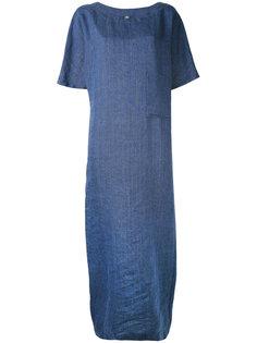 длинное платье-шифт Eleventy