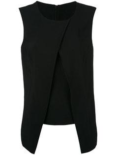 блузка с накладными панелями Eleventy