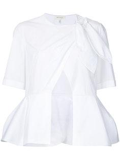 блузка с запахом Delpozo