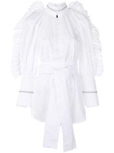 блузка с завязками на талии Ellery