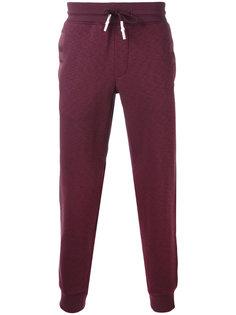 спортивные брюки с присборенными манжетами Armani Jeans