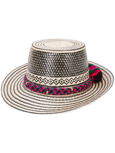 шляпа с помпоном  Adina Lunar Diety Yosuzi