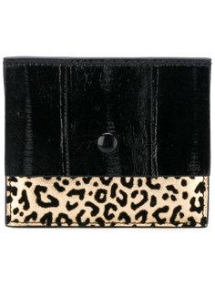 кошелек для карт с леопардовым узором Corto Moltedo