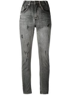 сильно облегающие укороченные джинсы One Teaspoon