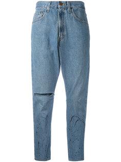 укороченные джинсы бойфренда One Teaspoon