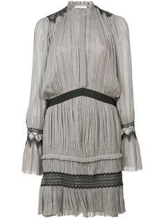 короткие плиссированное платье Vionnet