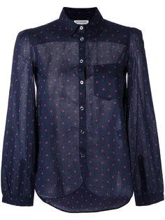 рубашка с узором в горох Isabel Marant Étoile