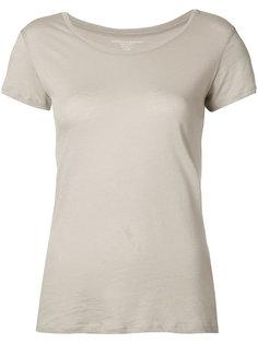 футболка с круглой горловиной Majestic Filatures