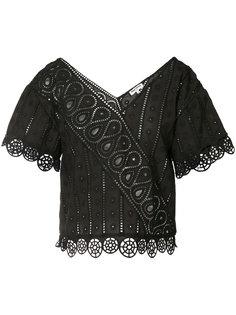 блузка с английской вышивкой Opening Ceremony