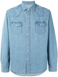 рубашка с накладными карманами Maison Kitsuné