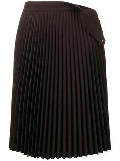 плиссированная юбка средней длины Balenciaga