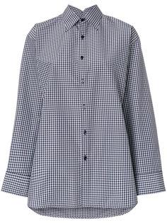 клетчатая рубашка Balenciaga