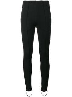 узкие брюки-джоггеры со штрипками Fuseau Balenciaga