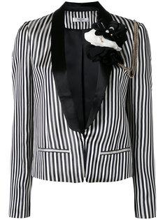 пиджак с цветочным украшением Lanvin