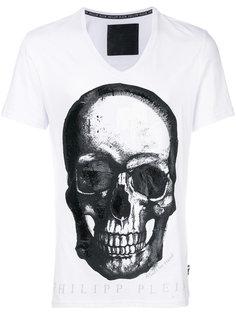 футболка с принтом Paint Three  Philipp Plein