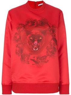 толстовка с принтом пантеры  Givenchy