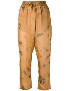 брюки Autan с принтом Mes Demoiselles