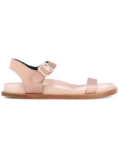 сандалии с пряжками Jil Sander