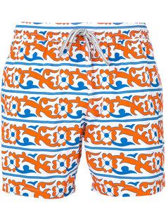 пляжные шорты с цветочным принтом  Capricode