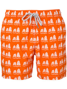 пляжные шорты с принтом  Capricode