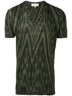 футболка с зигзагообразным принтом Etro