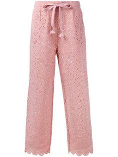 брюки с вышивкой Fenty X Puma